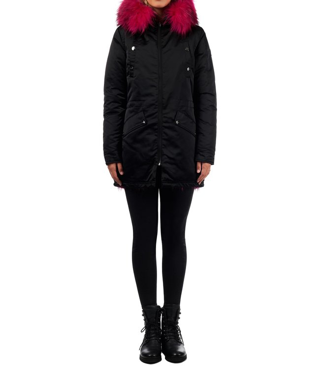 Jacky Luxury Jacky Luxury : Parka Reversible black