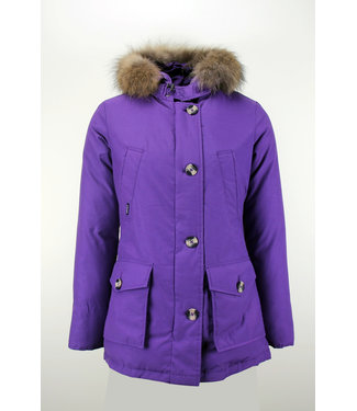 Airforce Airforce : 4 pocket parka RF Purple- OBW16W1653