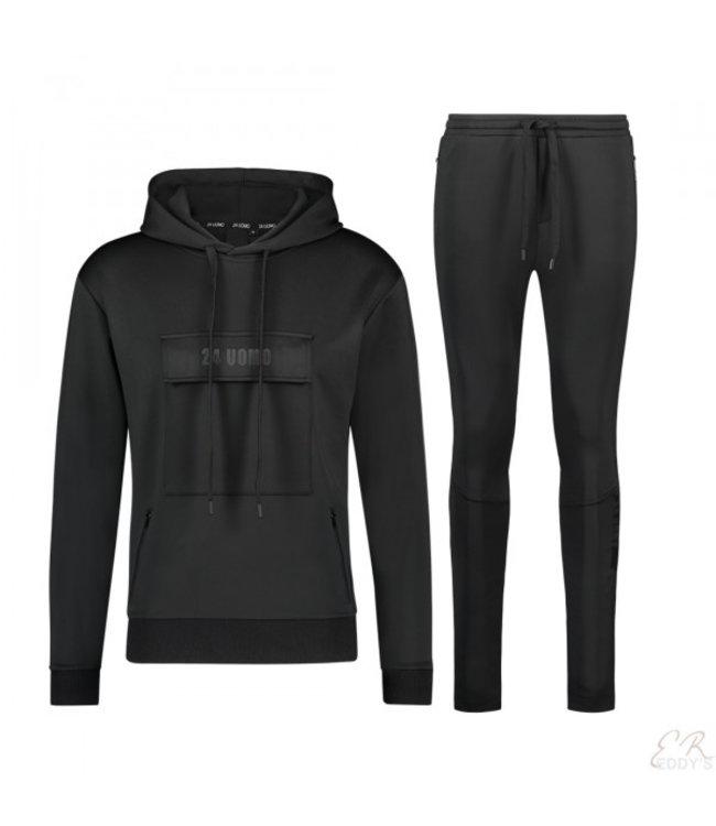 24uomo 24UOMO : Anorak suit MY 56/57-Black