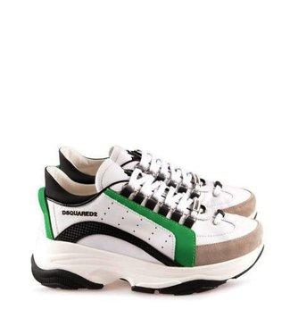 Dsquared2 Dsquared2 :Sneaker bumpy bianco green