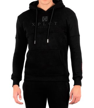 Xplicit Xplicit : Hoodie Brand Black/grey