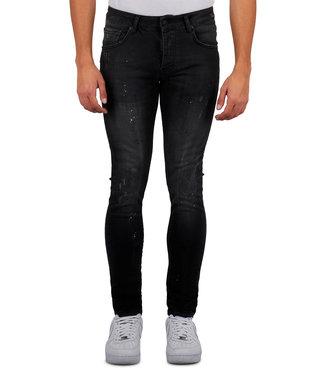 Mybrand Mybrand : Jeans base jogging-Black