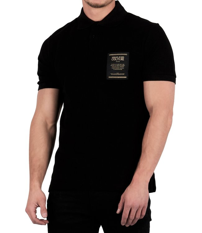 Versace Jeans couture Versace jeans : Polo label Black