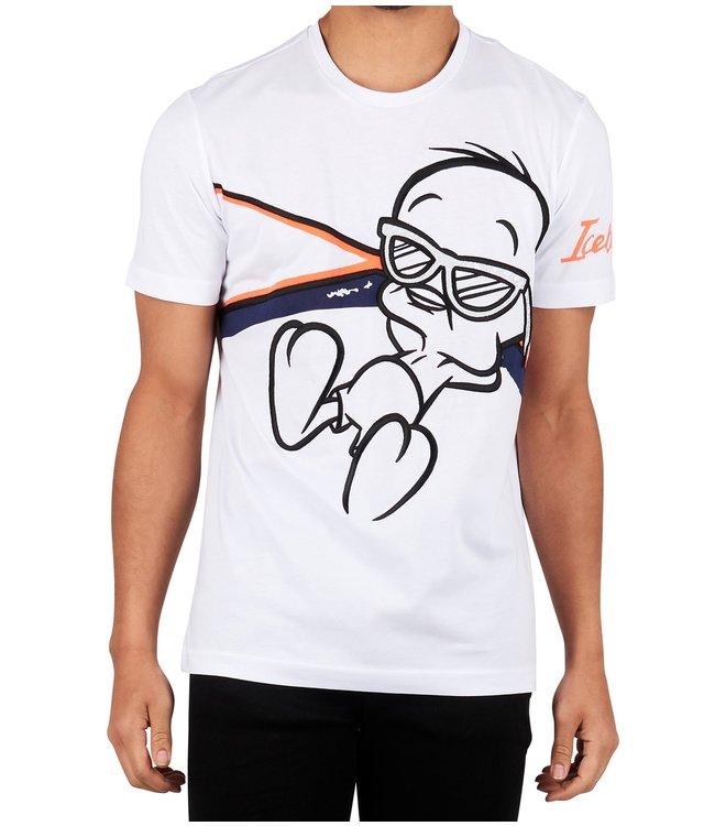 ICEBERG Iceberg : T-shirt Tweety White