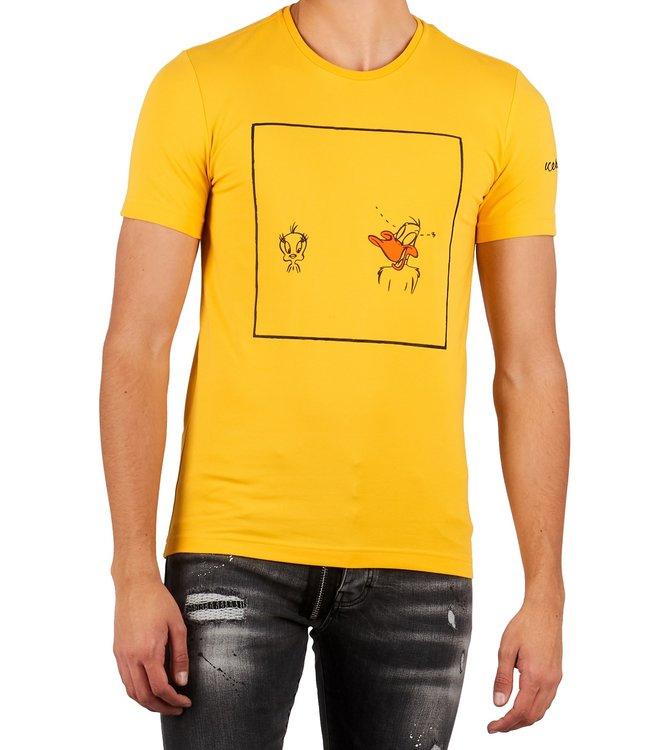 ICEBERG Iceberg : T-shirt Daffy /  Tweety Yellow