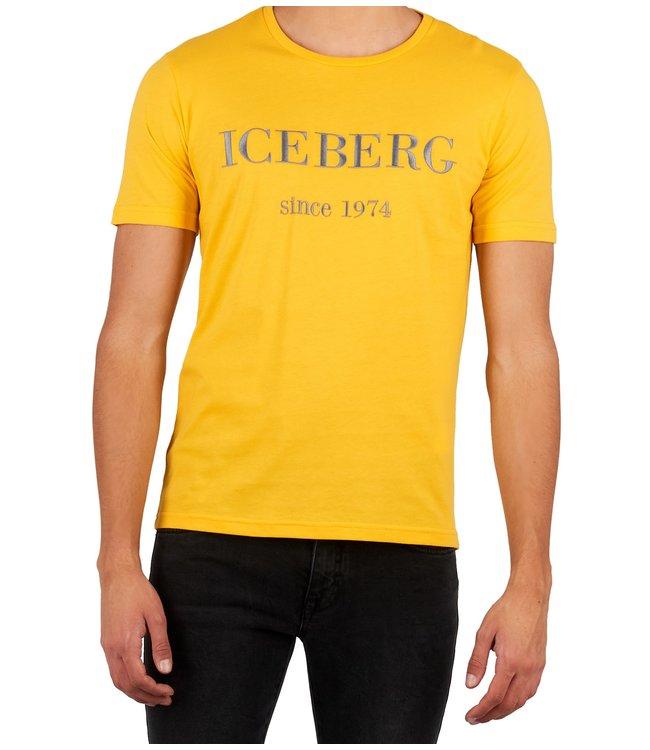ICEBERG Iceberg : T-shirt  logo Yellow