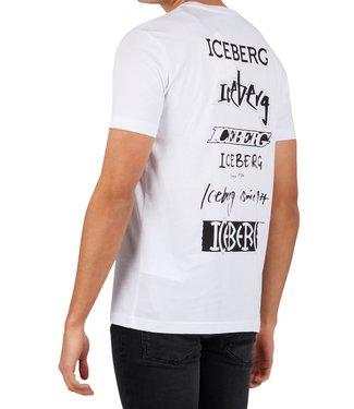 ICEBERG Iceberg : T-shirt back logo White