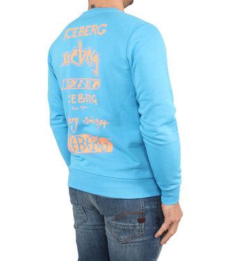 ICEBERG Iceberg : Sweater Turchese