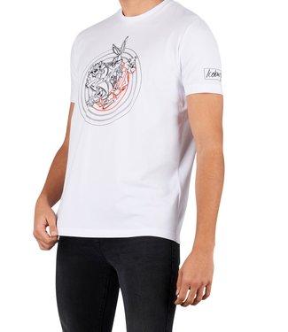 ICEBERG Iceberg : T-shirt Loony tunes White