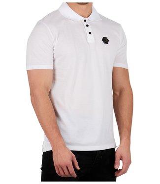 Mybrand Mybrand : Polo chest badge  White