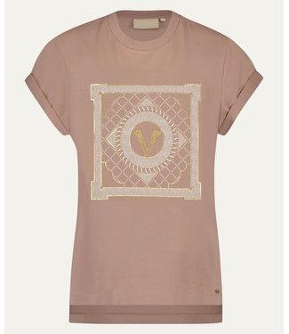 Joshv Joshv :T-shirt Dora Multi print-D.Blush