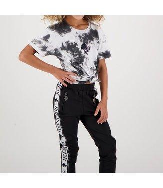 Reinders Reinders : Kids T-shirt Tie Dye-White Black