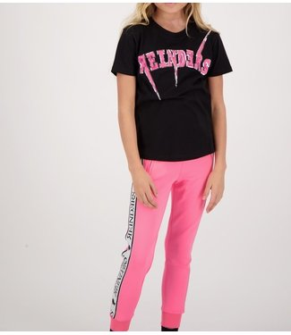 Reinders Reinders : Kids T-shirt Bolt-Black Pink