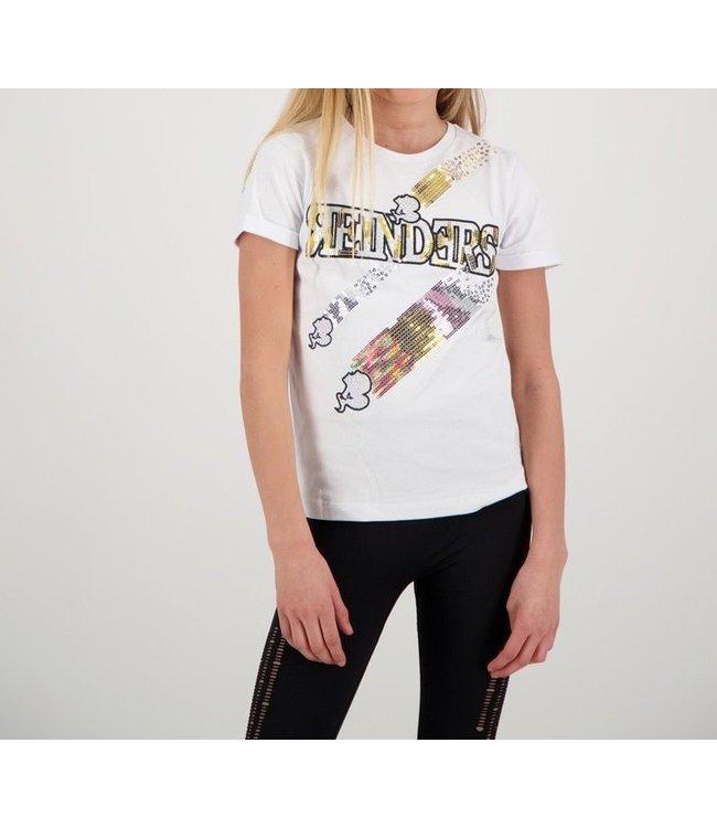 Reinders Reinders : Kids T-shirt Sequins-White