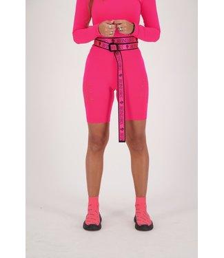 Reinders Reinders : Sport Legging Short-Pink Neon
