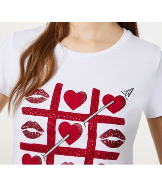 LiuJo LiuJo : T-shirt Arrow-WA0340-White