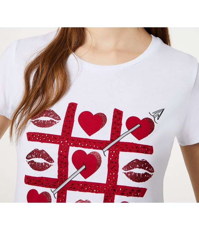 LiuJo LiuJo : T-shirt Arrow-WA0340-White