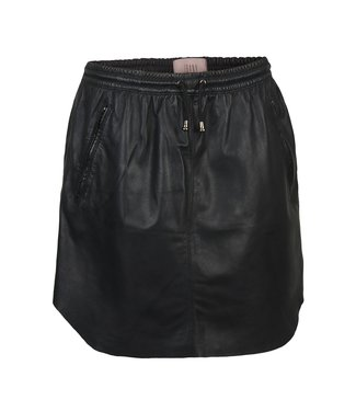 Ibana Ibana : Skirt leather Mesa-Black