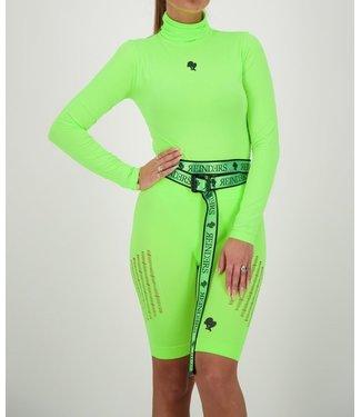 Reinders Reinders : Body Turtleneck-Neon Green