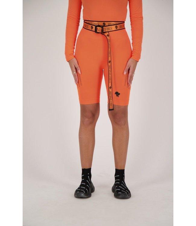 Reinders Reinders : Sport Legging Short-Orange Neon