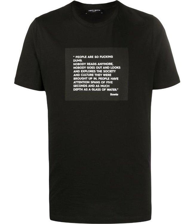 Frankie Morello Frankie Morello :T-shirt fms0752ts-Black