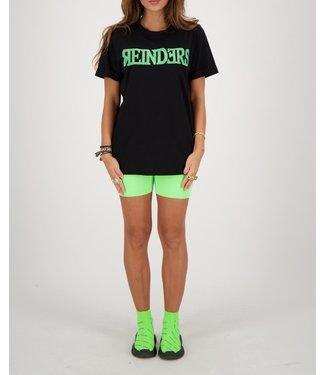 Reinders Reinders : T-shirt Wording-Black Neon