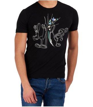 ICEBERG Iceberg : T-shirt Loony tunes Black