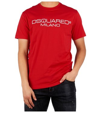 Dsquared2 Dsquared2 : T-shirt Milano-Red
