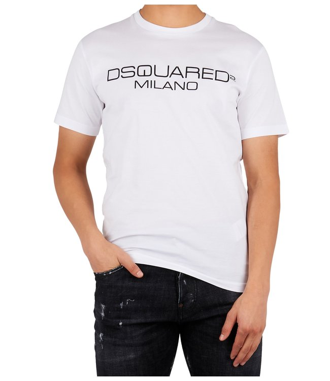 Dsquared2 Dsquared2 : T-shirt Milano-White
