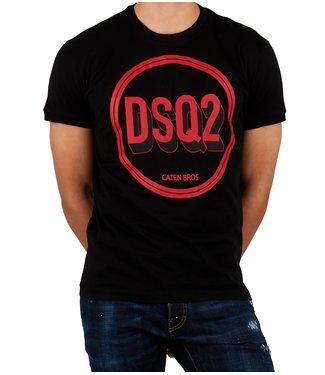 Dsquared2 Dsquared2 : T-shirt-S74GD0659-Black
