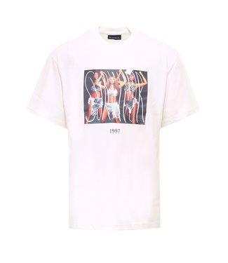 Throwback Throwback : T-shirt Survivor-White