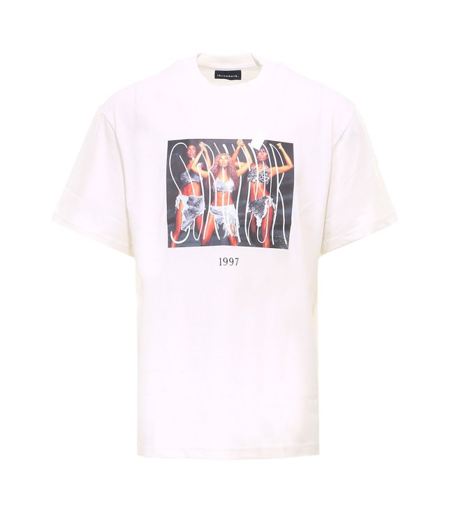 Throwback Throwback : T-shirt Survivor-White