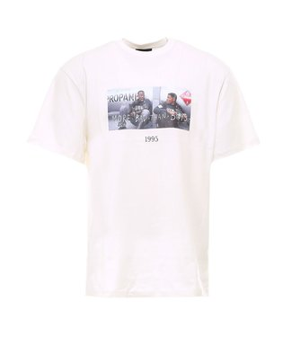 Throwback Throwback : T-shirt Bad boys-White