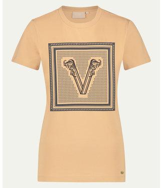 Joshv Joshv :T-shirt Zoe branded V-Desert