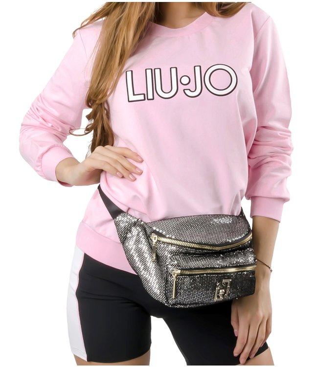 LiuJo LiuJo : Sweater Logo rub.Pink