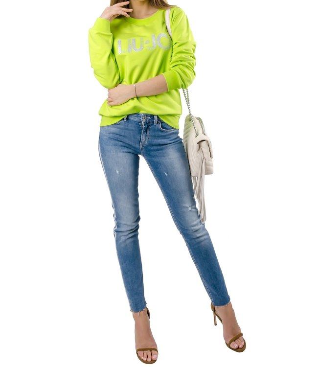 LiuJo LiuJo : Sweater-Shiny logo-Green