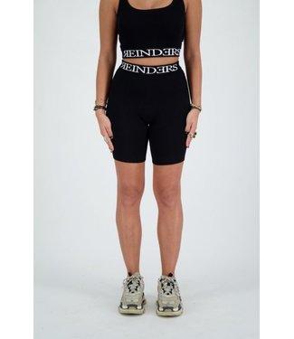 Reinders Reinders : Biker Entarsia Short Black