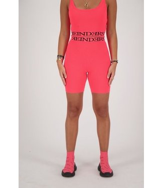 Reinders Reinders : Biker Entarsia Short-Pink Neon