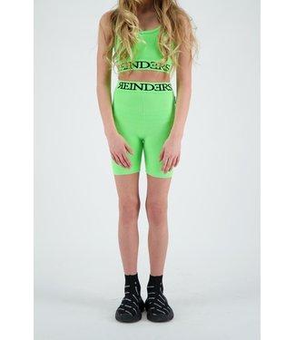 Reinders Reinders : Kids Biker short Entarsia-Neon Green