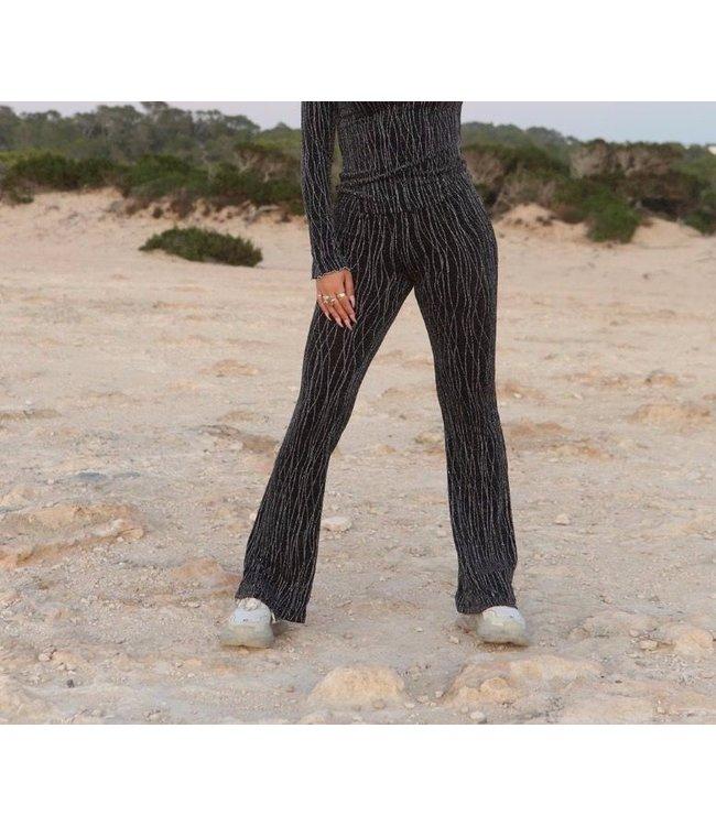Reinders Reinders : Pants Mandy-Black Silver