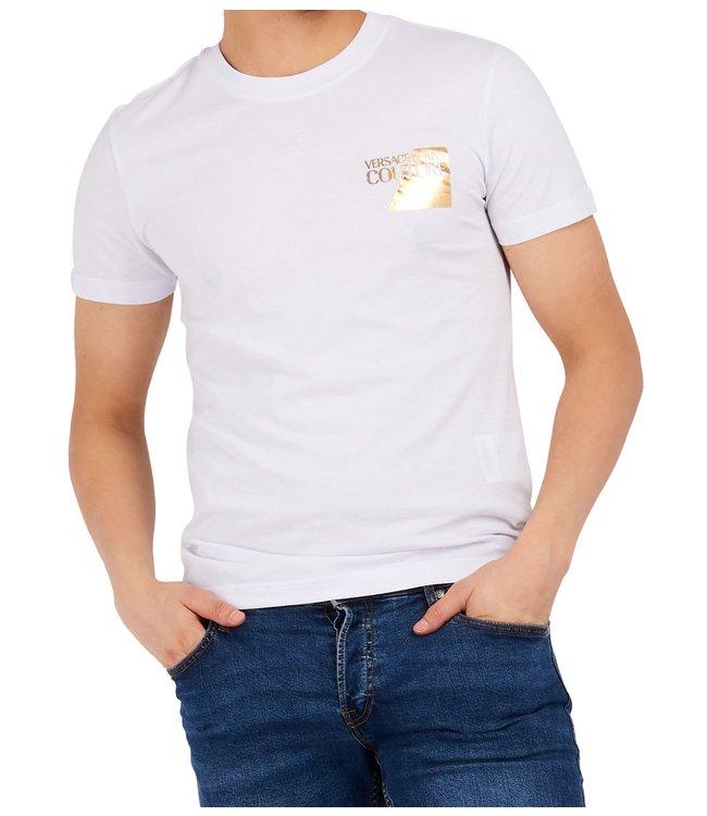 Versace Jeans couture Versace jeans : T-shirt Foil logo-White