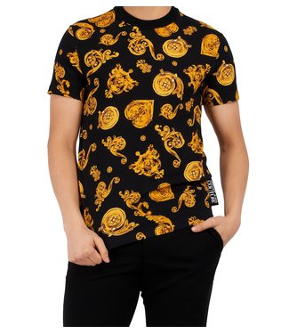 Versace Jeans couture Versace jeans : T-shirt print allover-Black