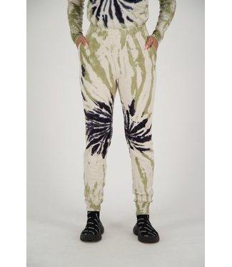 Reinders Reinders : Pants tie dye-Black Sage