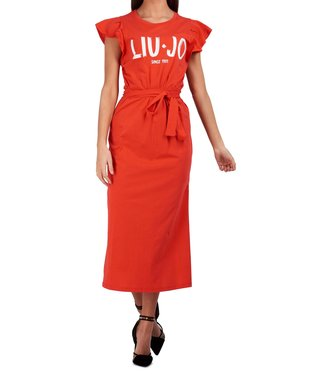 LiuJo LiuJo : Dress maxi-Coral red