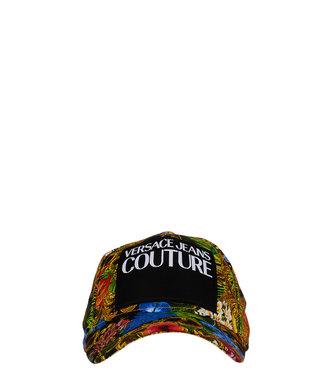 Versace Jeans couture Versace Jeans : Cap mid visor print label-Baroque