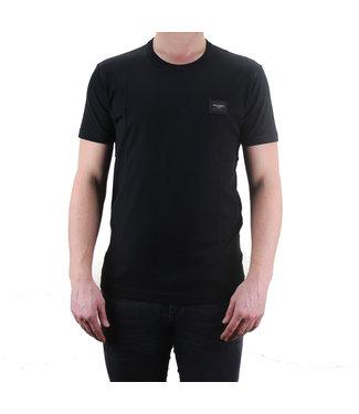 DOLCE & GABBANA D&G : T-shirt logo Placca-Black