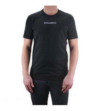 DOLCE & GABBANA D&G : T-shirt Logo-Black