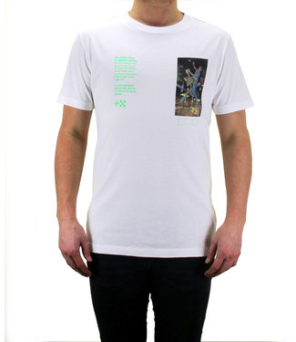 OFF-WHITE OFF-WHITE : T-shirt Pascal painting-White