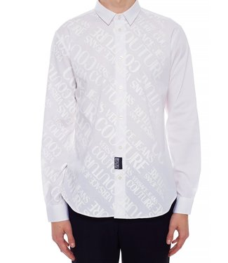 Versace Jeans couture Versace jeans : Shirt logo print White