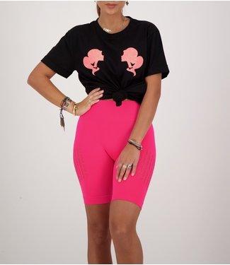 Reinders Reinders : T-shirt Reinders-Black Pink